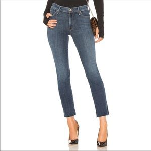 Mother Rascal Ankle Snipet High Rise Skinny Jeans